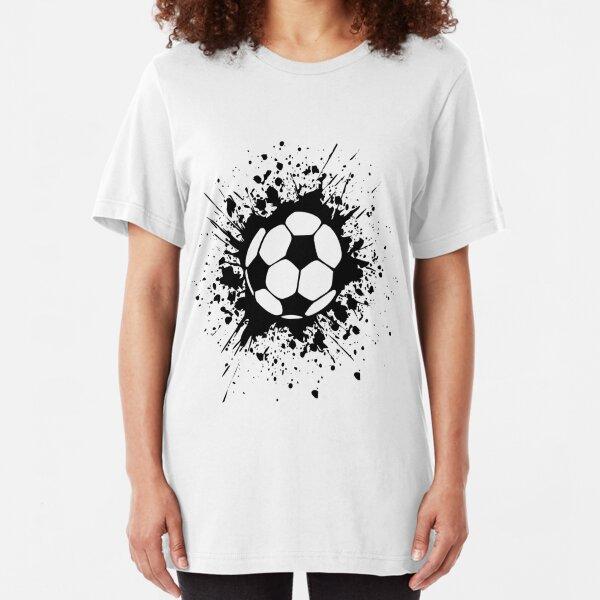 futbol : soccer splatz Slim Fit T-Shirt