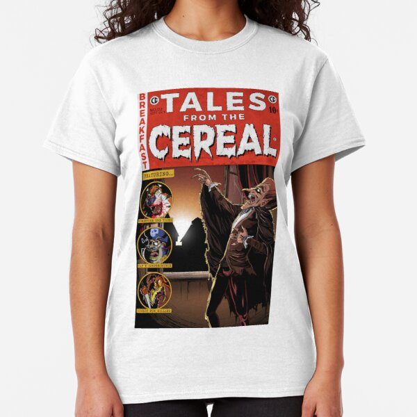 Count Chocula - Tales from the Cereal Classic T-Shirt