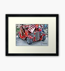 Classic Auto Series # 17 Framed Print