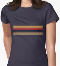 13th Doctor Rainbow Women's Fitted T-Shirt