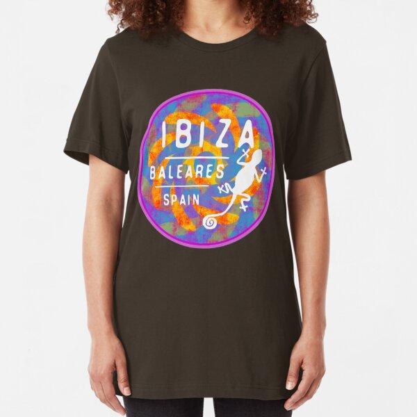 ibiza baleares Slim Fit T-Shirt
