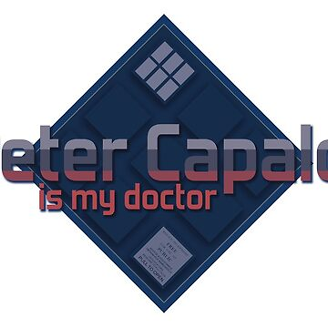 TN - Peter Capaldi is my doctor by Nerisse