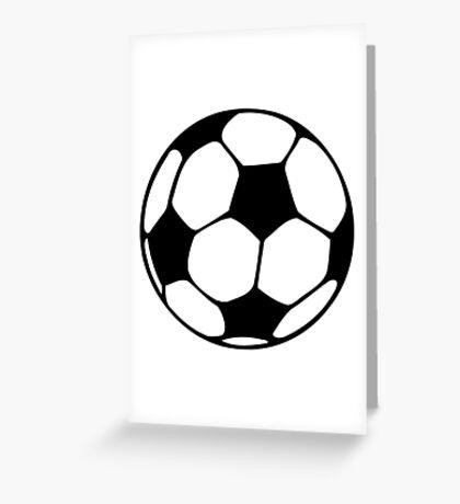 futbol Greeting Card