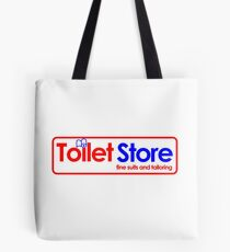 Toilet Store: Fine Suits and Tailoring Tote Bag