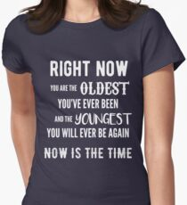 Now is the Time Women's Fitted T-Shirt