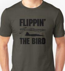 Flippin the Bird Unisex T-Shirt