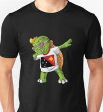 Papua New Guinea Dabbing Turtle Unisex T-Shirt
