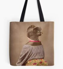 Japanese woman in Kimono from behind, 1890s Tote Bag