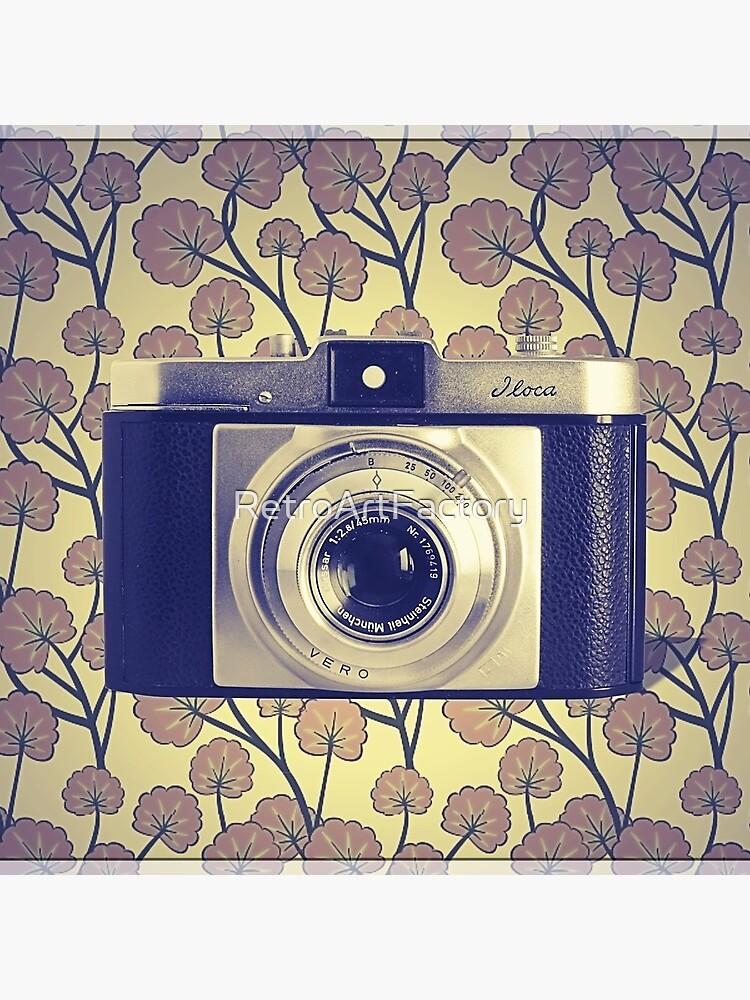 iLoca 35mm Camera Vintage Color by RetroArtFactory