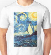 Starry Night Penguin Unisex T-Shirt