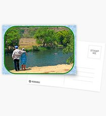 Enjoying a Grand River Postcards