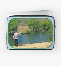 Enjoying a Grand River Laptop Sleeve