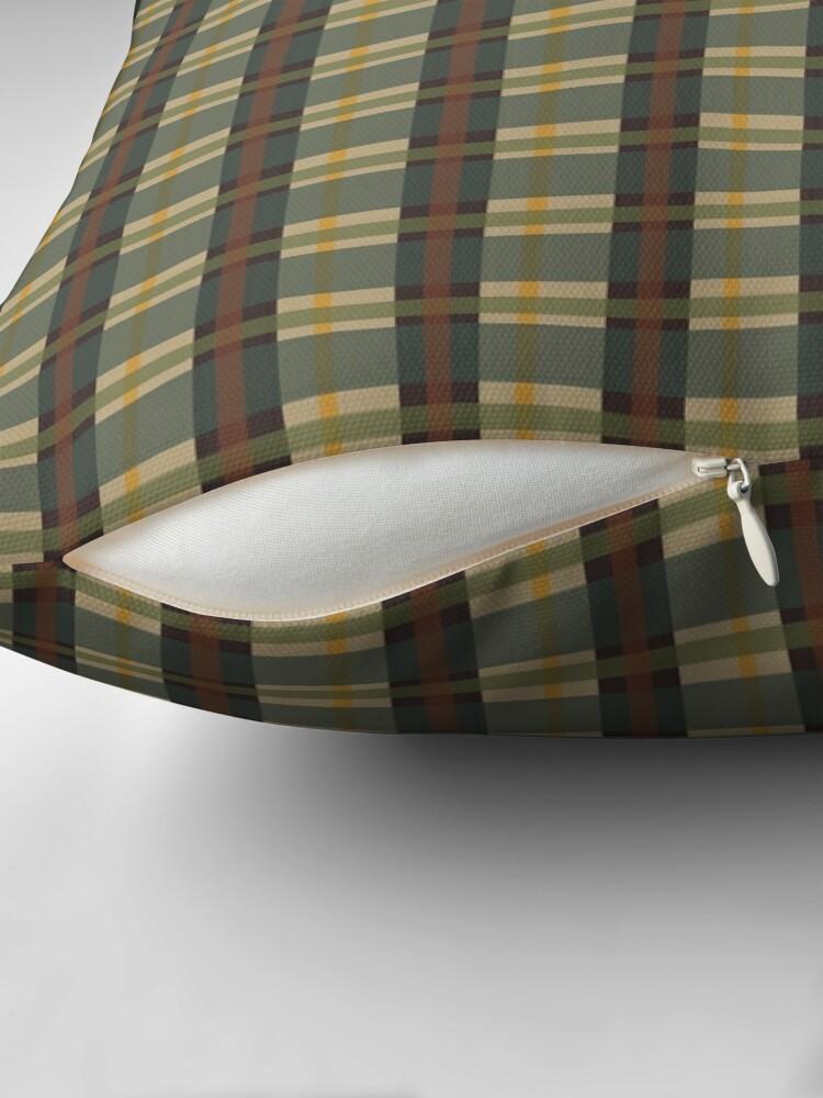 Alternate view of PNW-Tartan Floor Pillow