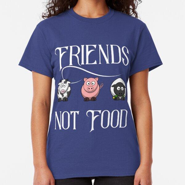 Eat vegetables-go Vegan-Girls camisa-protección de los animales animal real soja tofu Meat Free