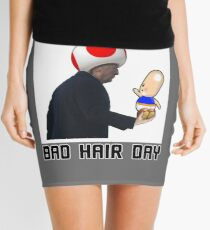 Another Bad Hair Day Mini Skirt