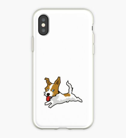 Happy Jack Russell Terrier iPhone Case