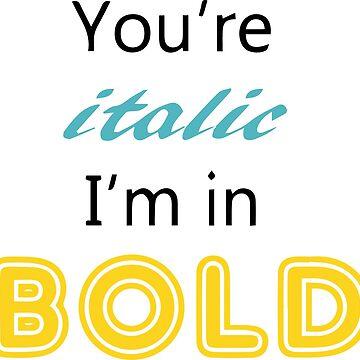 Billie Eilish Bold (White) by SilverSeven
