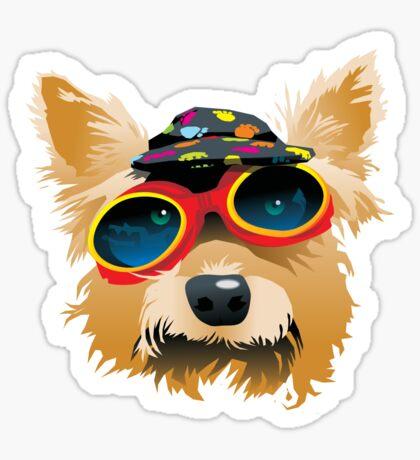 Sun Smart Puppy Sticker