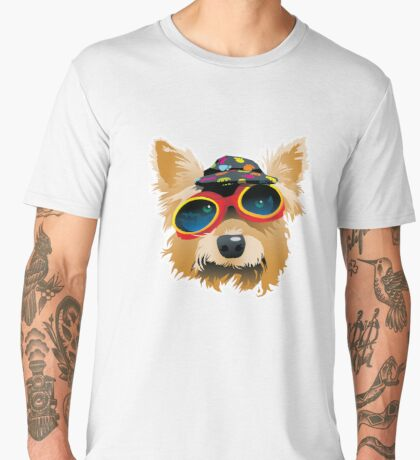 Sun Smart Puppy Men's Premium T-Shirt