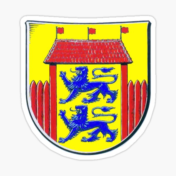 Husumer Wappen, Deutschland Sticker