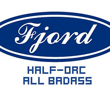 Fjord - half orc by thorhallericson