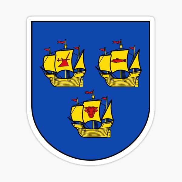 Wappen von Nordfriesland, Deutschland Sticker