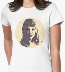 Sylvia Plath Fitted T-Shirt