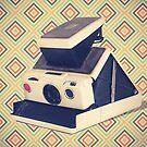 Polaroid SX-70 Camera Vintage Color by RetroArtFactory