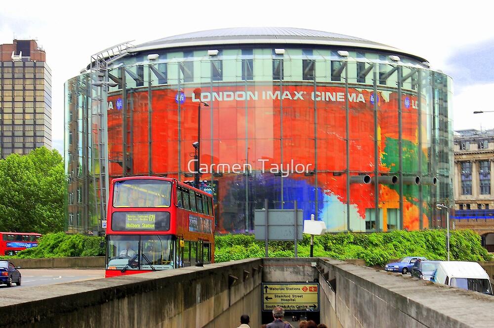 Imax Cinema London in Glorious Technicolour!!! by Carmen Taylor