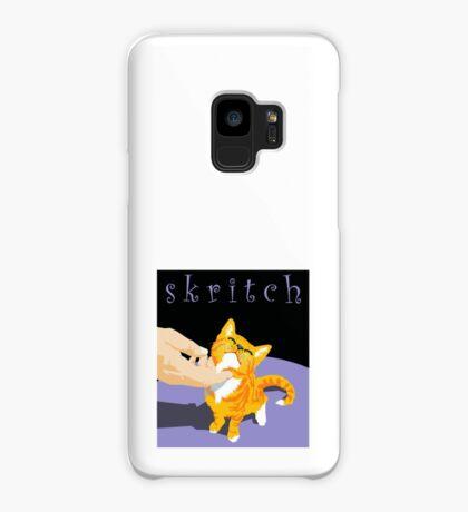 scratch kitten Case/Skin for Samsung Galaxy