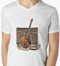 Red Special and Amp Men's V-Neck T-Shirt