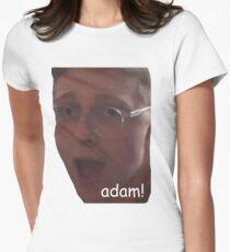 Adam-Rebe Tailliertes T-Shirt für Frauen