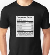 Funny Carpenter Facts Unisex T-Shirt