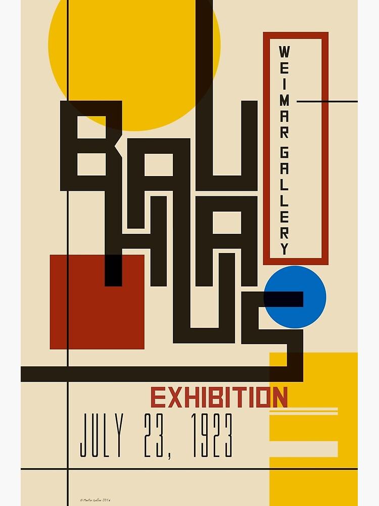 Bauhaus Poster I by BLTV