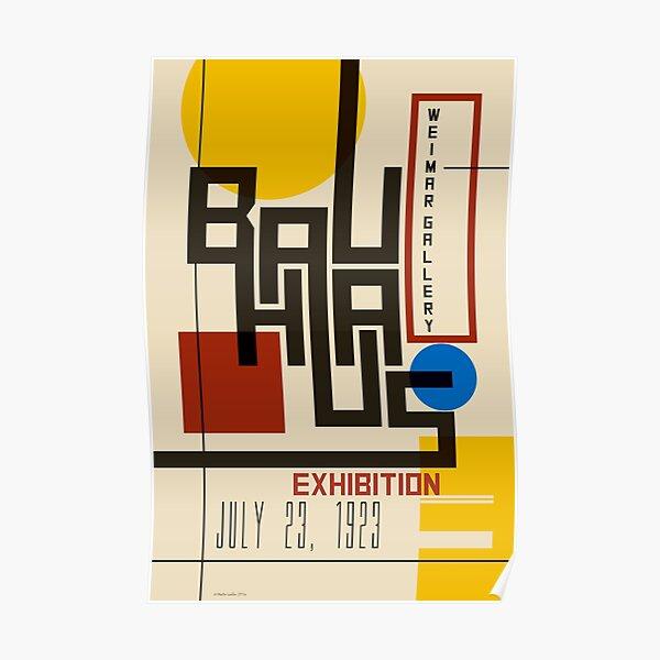 Bauhaus Poster I Poster