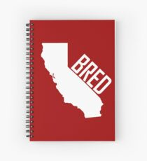 California Bred Spiral Notebook