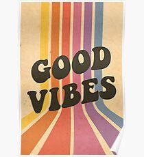 Póster Buenas vibraciones