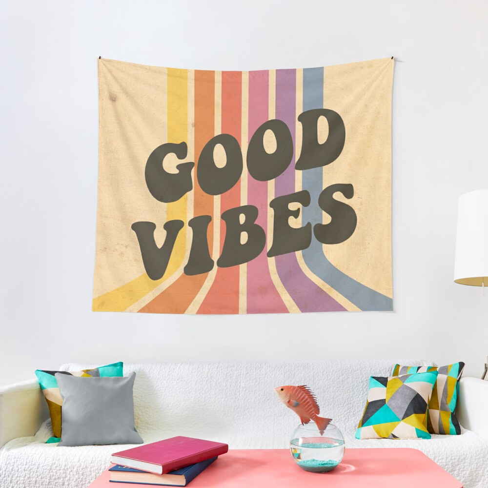 Good Vibes Tapestry