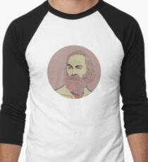 Camiseta ¾ bicolor para hombre Walt Whitman