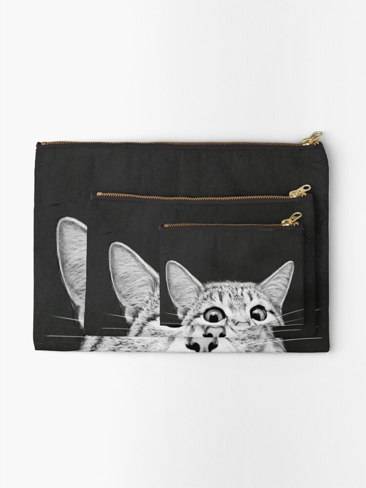 Alternate view of You asleep yet? Zipper Pouch