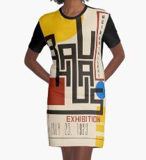 Bauhaus Poster I Graphic T-Shirt Dress