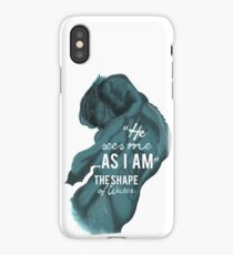 He sees me as I am iPhone Case/Skin