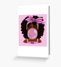 Bubble Gum Greeting Card