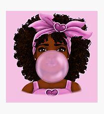 Bubble Gum Photographic Print
