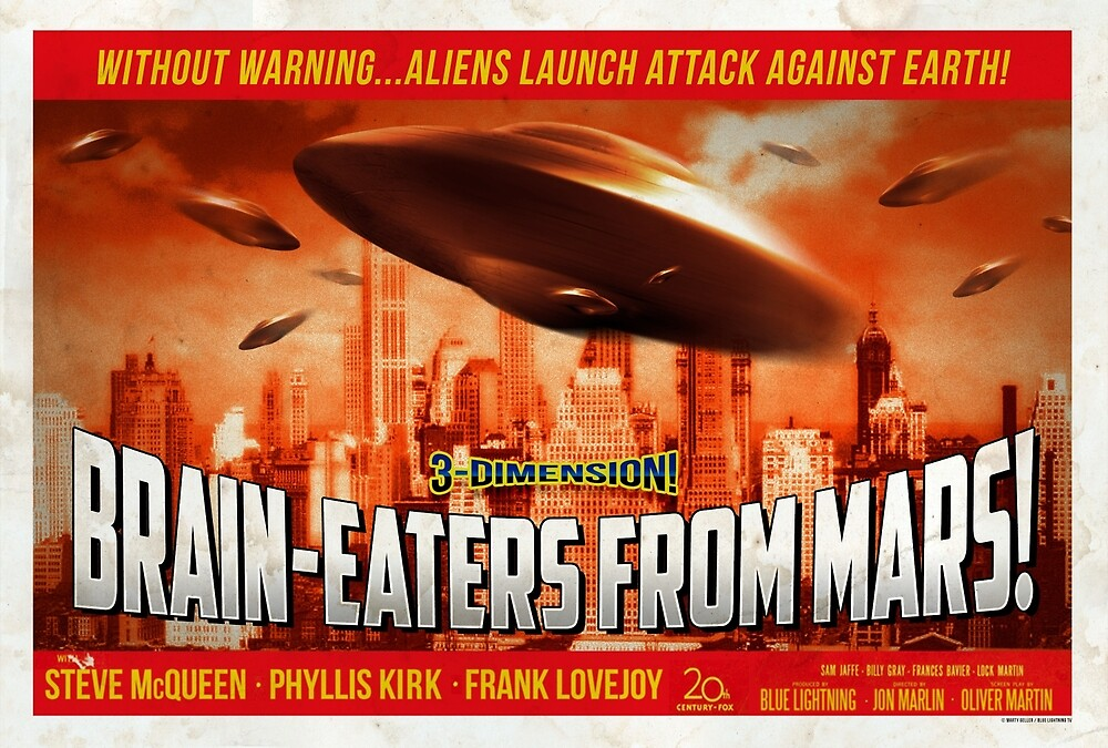 """""""Brain-Eaters from Mars!""""  by BLTV"""