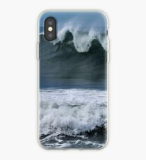 Waves at Newcastle Beach NSW iPhone Case