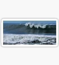 Waves at Newcastle Beach NSW Sticker