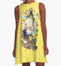 Childhood Friends Unite A-Line Dress
