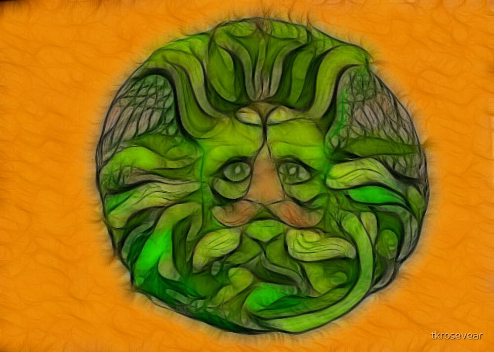 The Spirit of Green Man by tkrosevear
