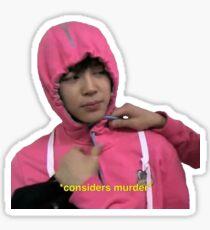Pegatina BTS Park Jimin Pegatina Funny Kpop